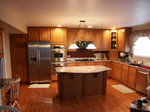 kitchen cabinets with doors cabinet refacing denver colorado home improvements of 6467